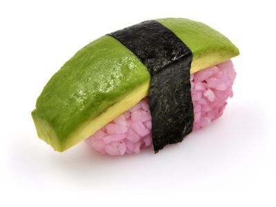 Sushi avocat betterave